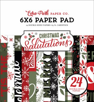 Salutations Christmas 6x6 Paper Pad