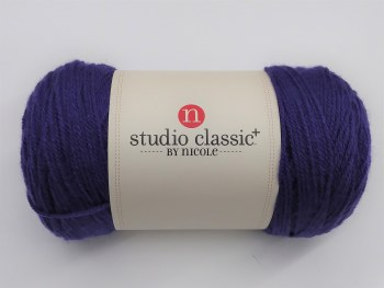 Studio Classic Plus Yarn- Deep Amethyst