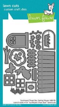 Lawn Fawn 3D Craft Dies- Shadow Box Add-On, Spring House