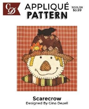Applique Pattern- Scarecrow