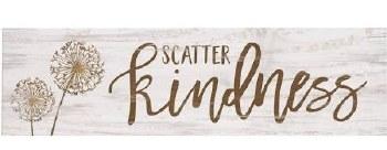 Framed Art Sign- Scatter Kindness