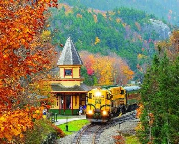 Scenic Railroad - 1,000 Piece Puzzle