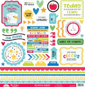 School Days Stickers- This & That