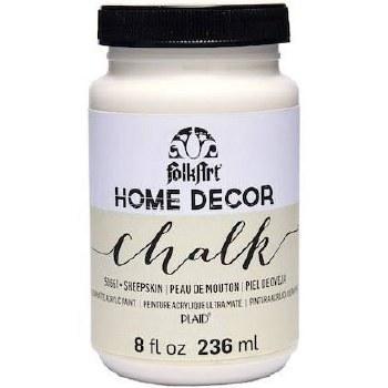 FolkArt Home Decor Chalk Paint 8 oz- Sheepskin