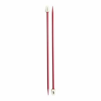 "Silvalume Single Point Knitting Needles 10""- Size 9/9.5mm"