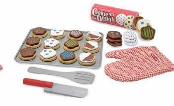 Melissa & Doug  Wood Toy Set- Slice & Bake Cookies