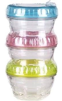 Artbin Twisterz Jar Set- Small & Short, 3pk