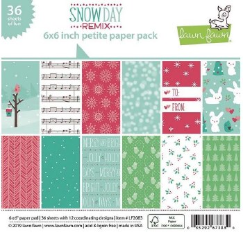 Snow Day 6x6 Petite Paper Pack