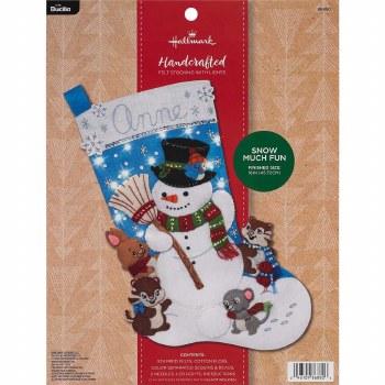 Bucilla Felt Stocking Kit- Snow Much Fun