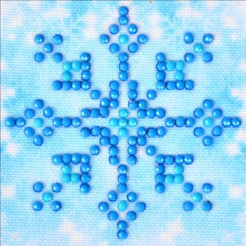 Diamond Facet Art Starter Kit- Snowflake Sparkle