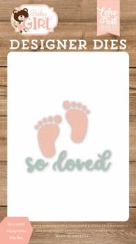 Baby Girl/Boy Designer Dies- So Loved Footprints