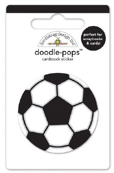 Goal! Doodle Pop- Soccer Ball