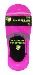 6pk Footie No-Show Socks- All Sport, Colored