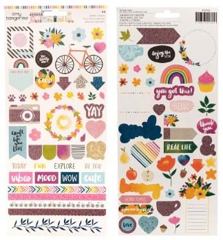 Amy Tangerine Slice of Life Stickers