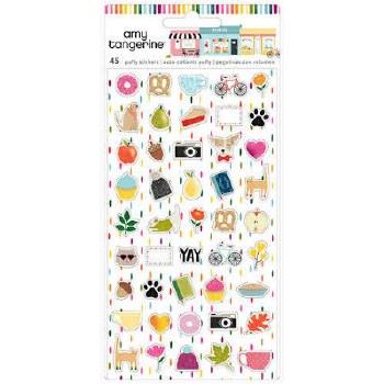 Amy Tangerine Slice of Life Stickers- Mini Puffy