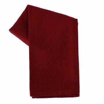 "Solid Weave 20""x28"" Tea Towel- Cranberry"