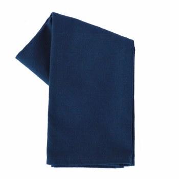 """Solid Weave 20""""x28"""" Tea Towel- Navy"""