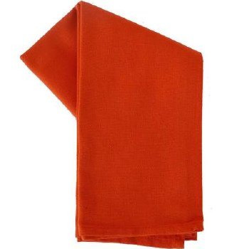 "Solid Weave 20""x28"" Tea Towel- Orange"