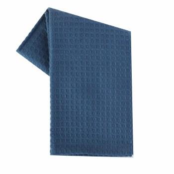 "Waffle Weave 20""x28"" Tea Towel- Provencial Blue"