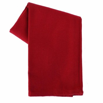 "Solid Weave 20""x28"" Tea Towel- Red"