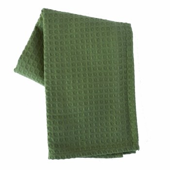 "Waffle Weave 20""x28"" Tea Towel- Sage"
