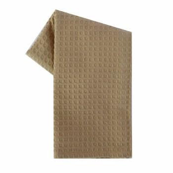 "Waffle Weave 20""x28"" Tea Towel- Wheat"