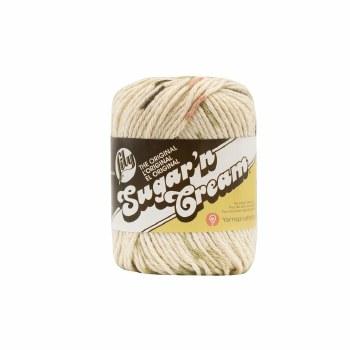 Sugar 'n Cream Yarn- #2018 Sonoma Print