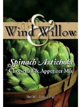 Wind & Willow Cheeseball & Appetizer Mix- Spinach Artichoke