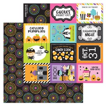 Candy Carnvial 12x12 Paper- Spook-Tacular