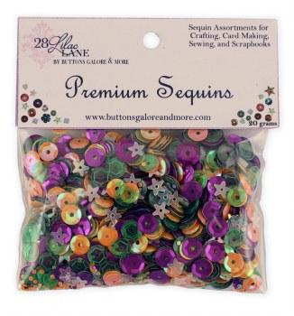 28 Lilac Lane Premium Sequins- Spooky Fun