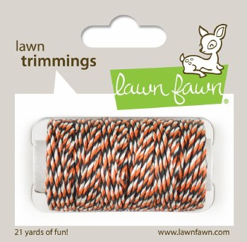 Lawn Fawn Trimmings Cord- Spooky