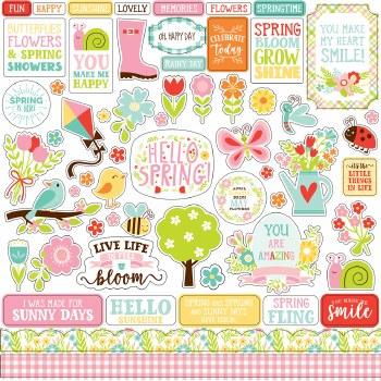 Spring Fling Sticker Sheet