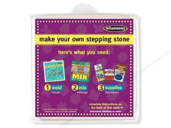 "Stepping Stone Mold- 8"" Square"