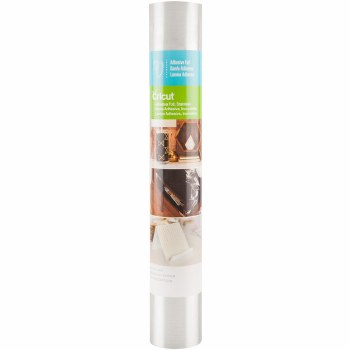 """Cricut Adhesive Foil, 12""""X48""""- Stainless Steel"""