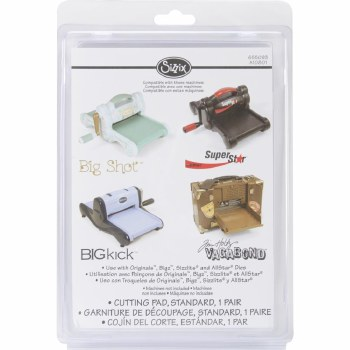 Sizzix Standard Replacement Cutting Pads- 2 pk