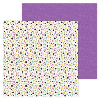 Candy Carnvial 12x12 Paper- Star Attraction