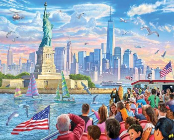 Statue of Liberty - 1,000 Piece Puzzle