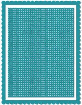 Revolution Card Front Die- Stitch Grid