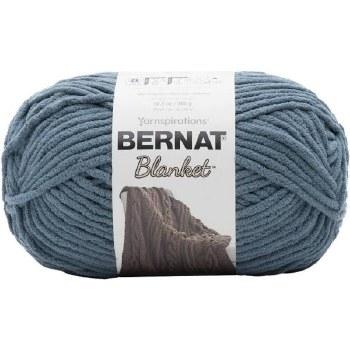 Bernat Blanket Yarn- Stormy Green