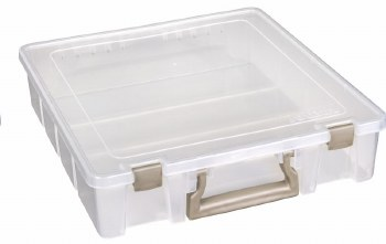 Artbin Super Satchel Storage Tote- Clear