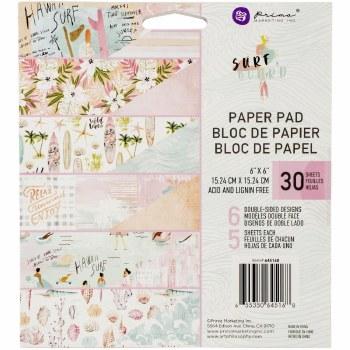 """Surfboard Paper Pad, 6x6"""""""