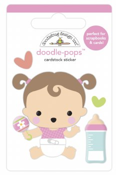 Bundle of Joy Doodle-Pops - Sweet Girl