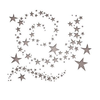 Tim Holtz Thinlits- Swirling Stars