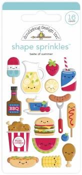 Bar-B-Cute Shape Sprinkles - Taste of Summer