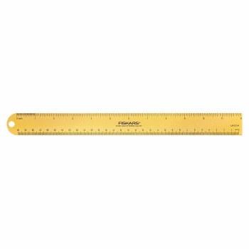 """Fiskars Teresa Collins 12"""" Metal Ruler"""
