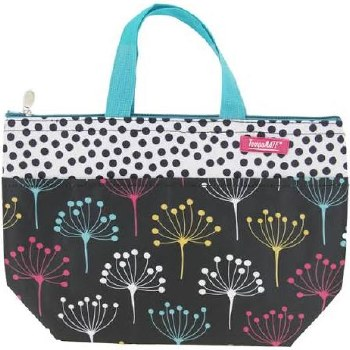 Thermal Insulated Lunch Bag- Teal Tree
