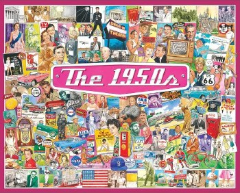 The 1950's - 1,000 Piece Puzzle