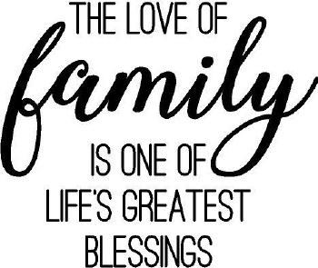 """""""Love Of a Family..."""" Vinyl"""