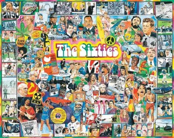 The Sixties - 1,000 Piece Puzzle