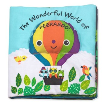 K's Kids Soft Book- The Wonderful World of Peekaboo!
